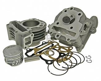 Купить ЦПГ NARAKU Big Bore + головка с увеличенными клапанами [V.2 90cc] - 139QMB в Калининграде