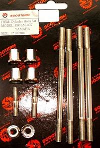 Купить Шпильки цилиндра+глушителя (компл. 6шт. с гайками) Yamaha TW в Калининграде