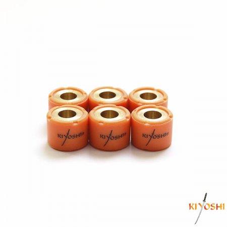 Купить Грузики вариатора Kiyoshi (6шт) 18*14 15,0гр. 152QMI, 157QMJ, ATV150 в Калининграде
